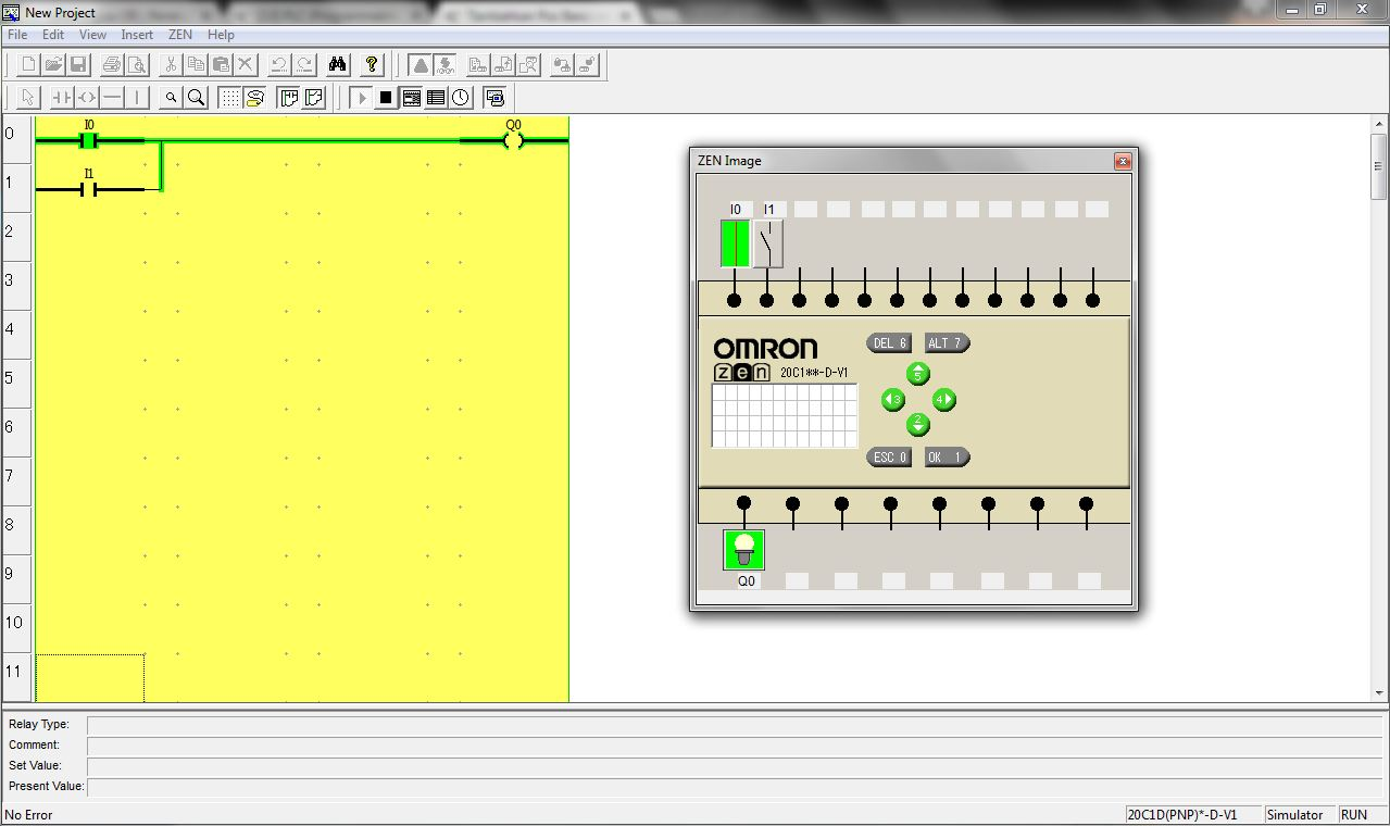 Membuat Ladder Diagram Menggunakan Plc Zen Software Omron Anwar Kholidi Nasution